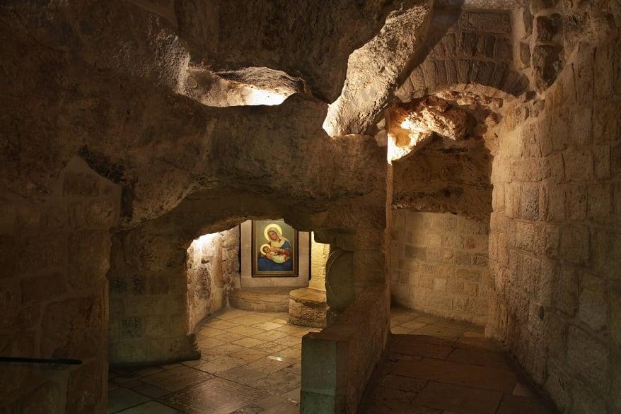Betlemme la grotta di Gesù