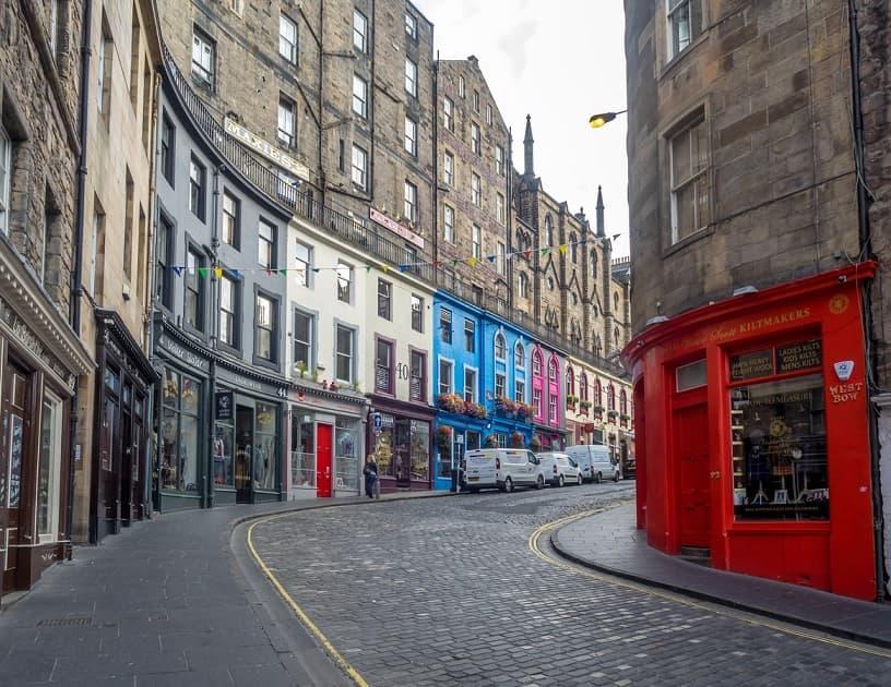 Edimburgo Victoria street