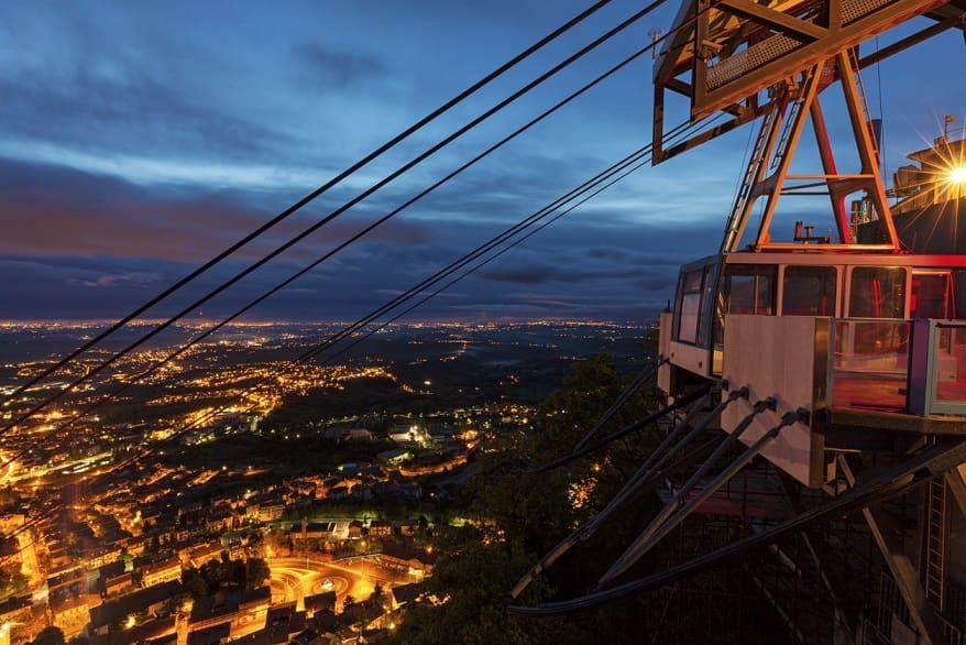 San Marino funivia