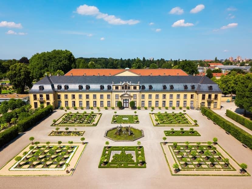 Hannover Herrenhausen foto