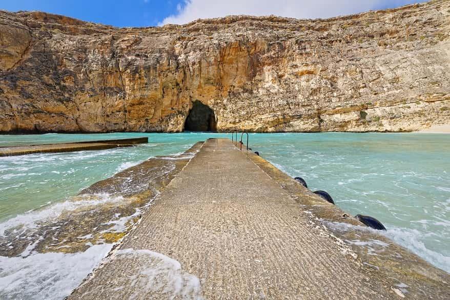 Isola di Gozo molo