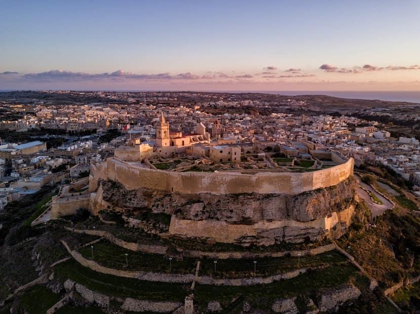 Isola di Gozo panorama