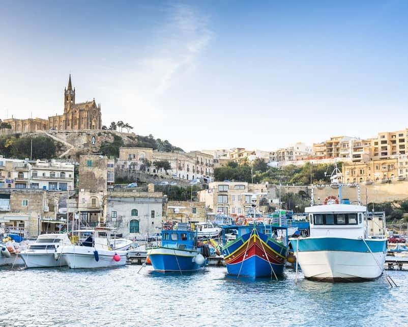 Isoa di Gozo porto
