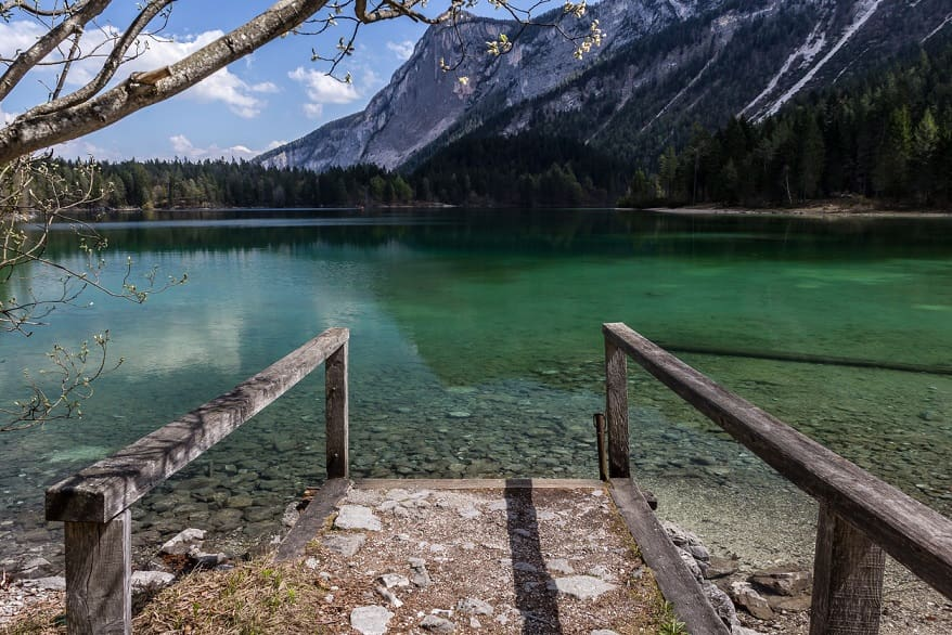 Lago di Tovel molo