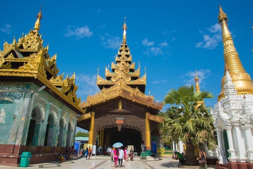 myanmar tempio