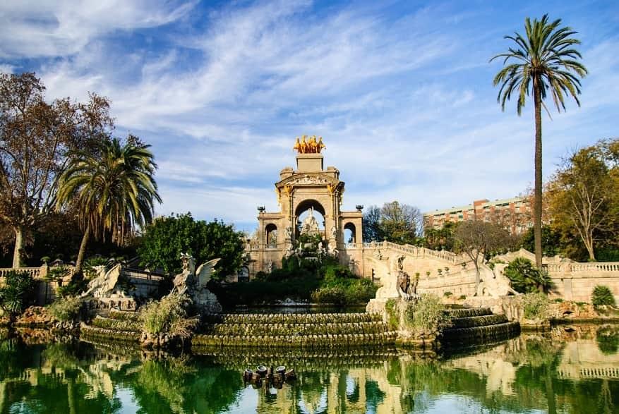 Parco ciuttadella Barcellona
