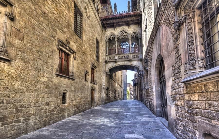 Quartiere gotico Barcellona