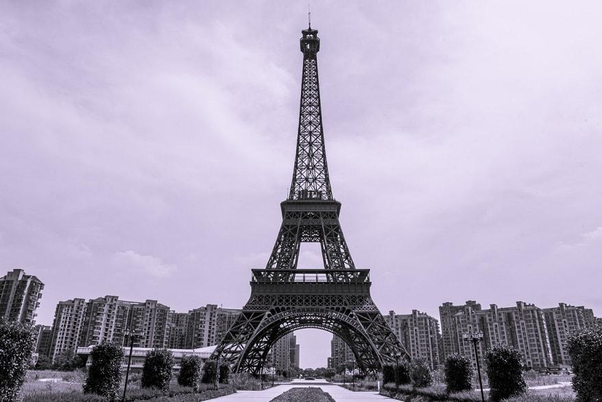 Torre Eiffel cinese