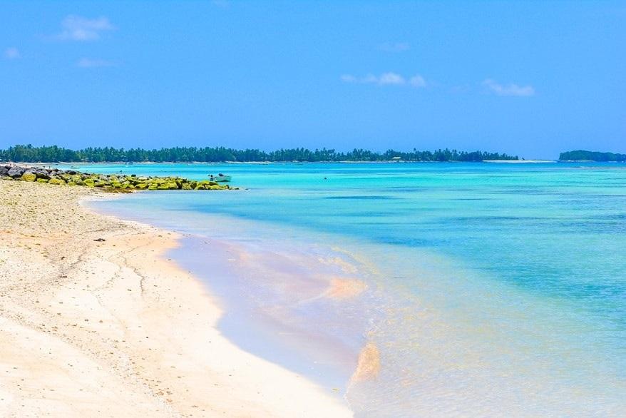 Tuvalu spiaggia