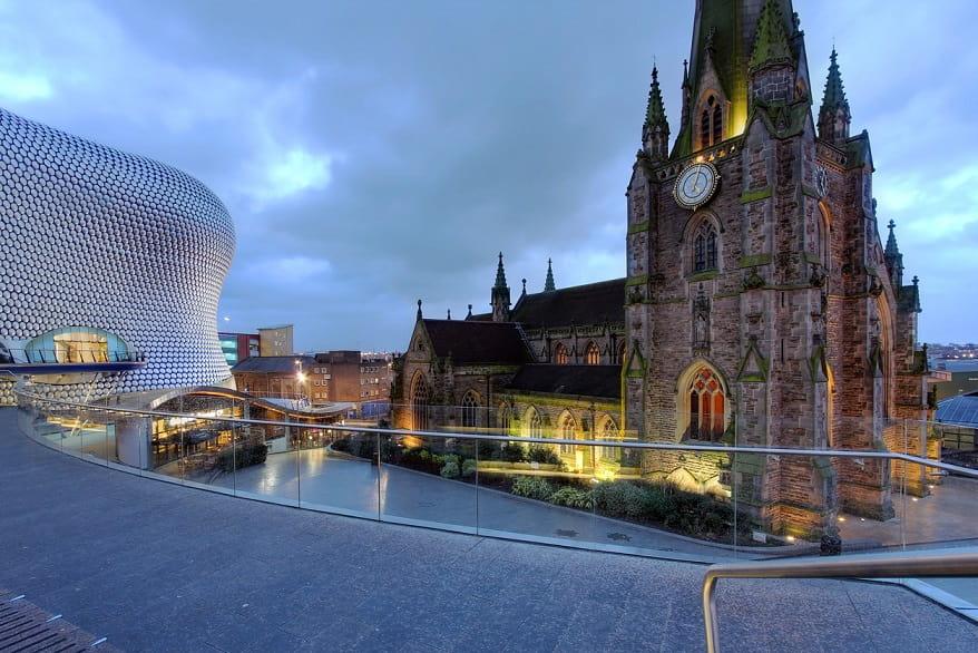 Birmingham Chiesa di St George