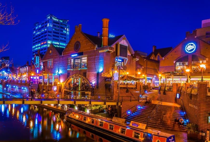 Birmingham di notte
