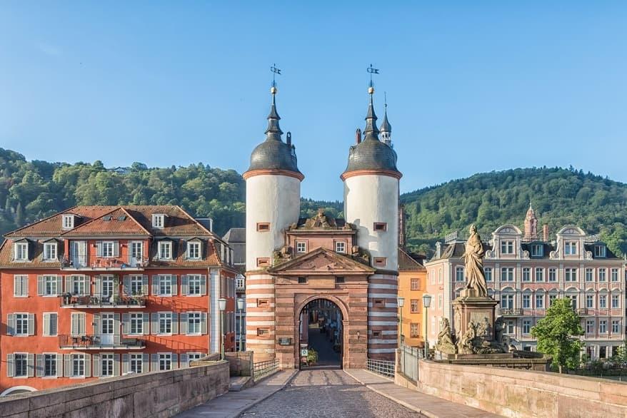 Heidelberg vecchio edificio