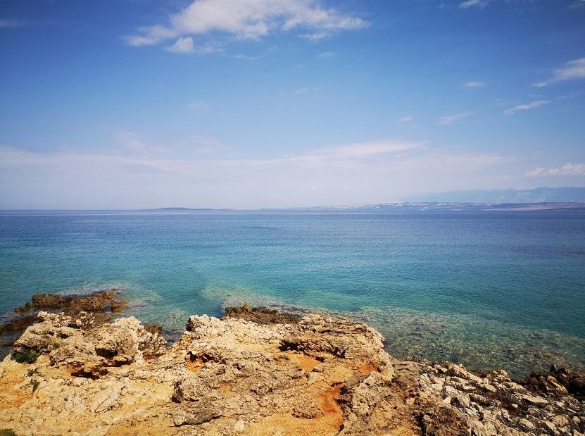 Isola di Vir spiagge