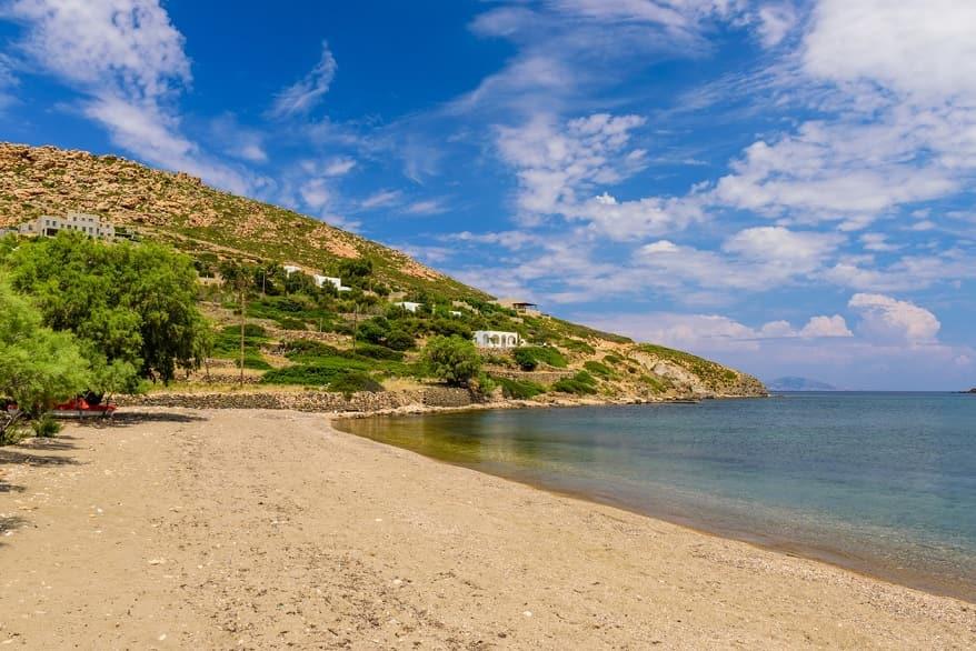 Patmos spiaggia
