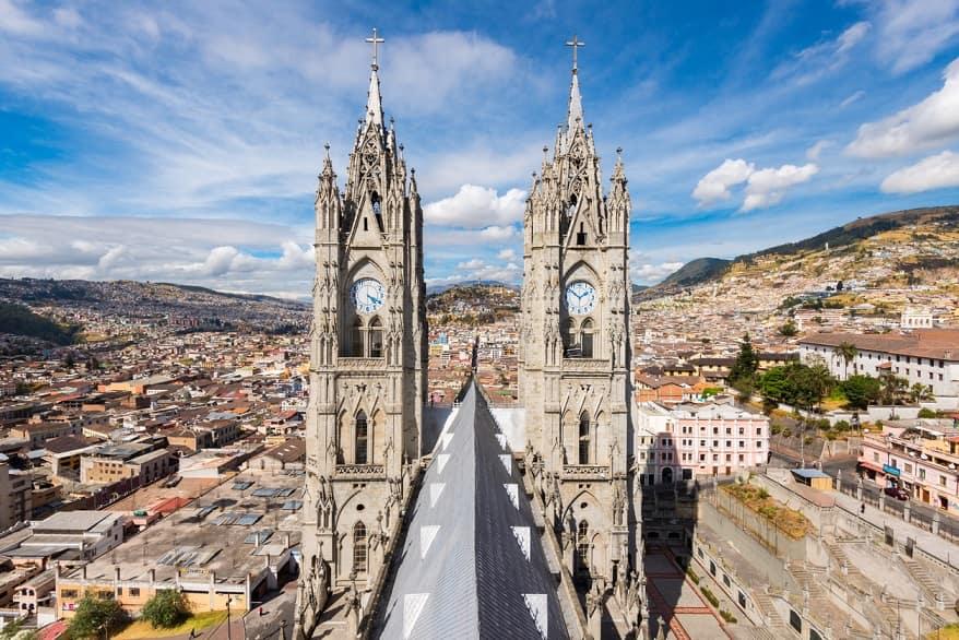Quito basilica del voto