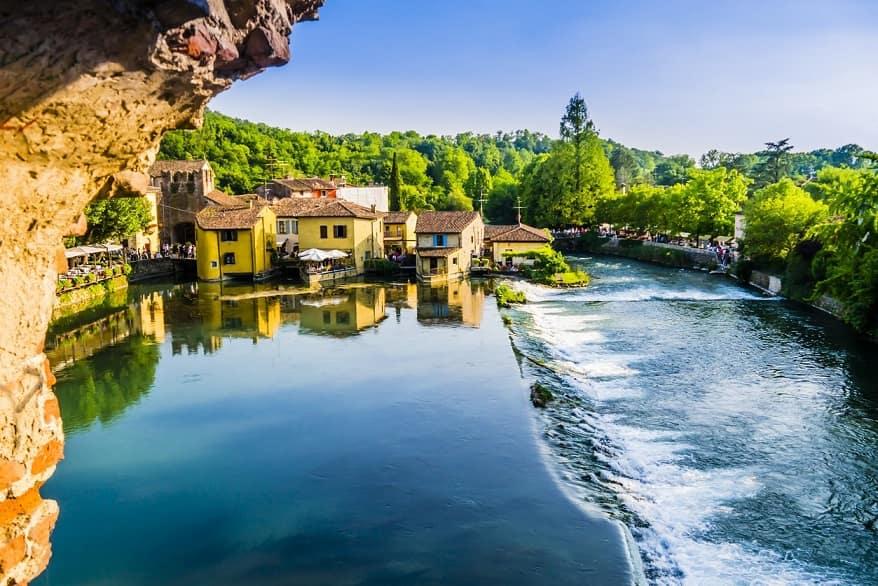 Borghetto sul Mincio fiume