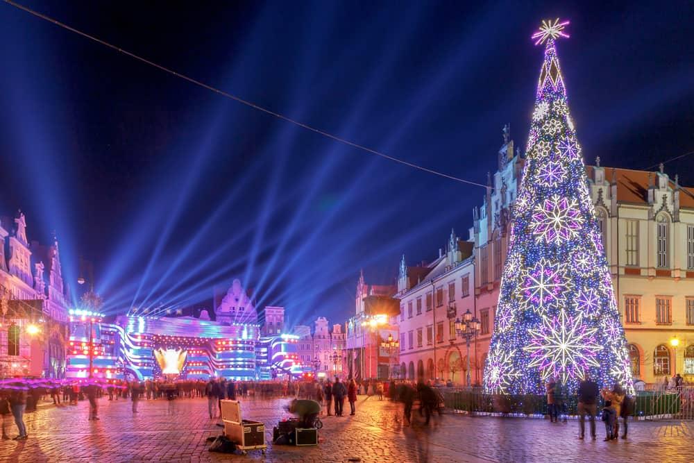 Breslavia di notte