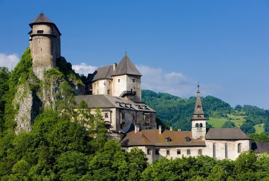 Castello di Orava foto