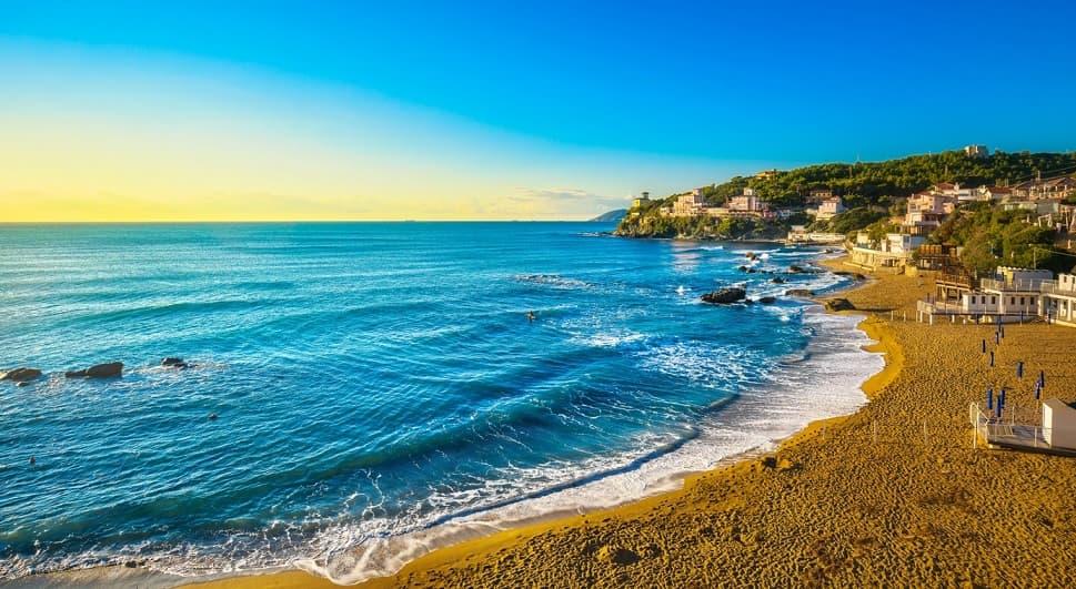 Castiglioncello spiaggia