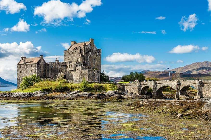 Eilenan Donan Castle