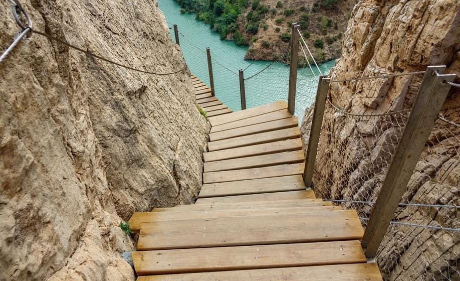 El caminito del Rey scala