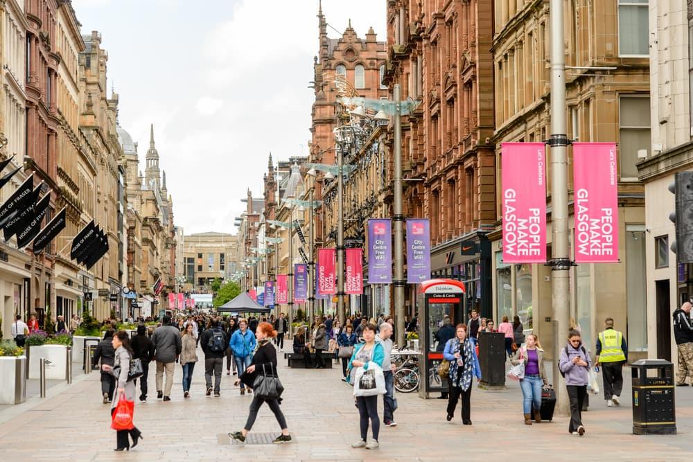 Glasgow via del centro