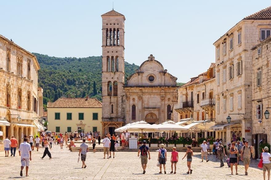 Hvar cattedrale Santo Stefano