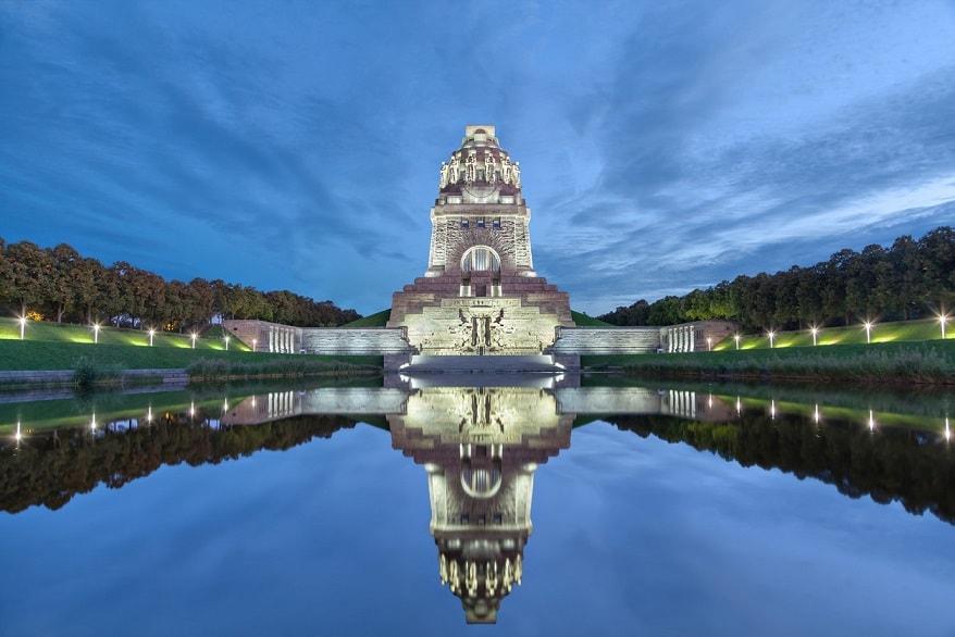 Lipsia il monumento della battaglia