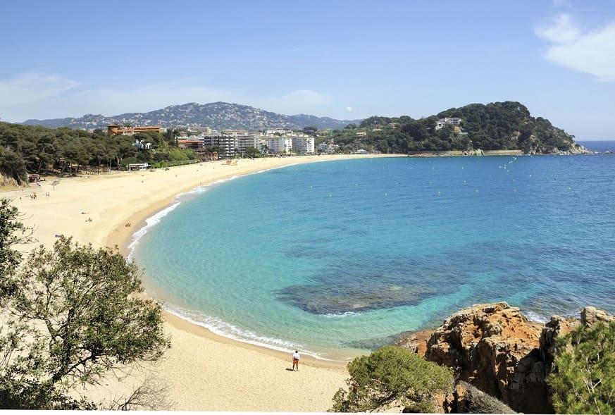 Lorett de mar spiaggia