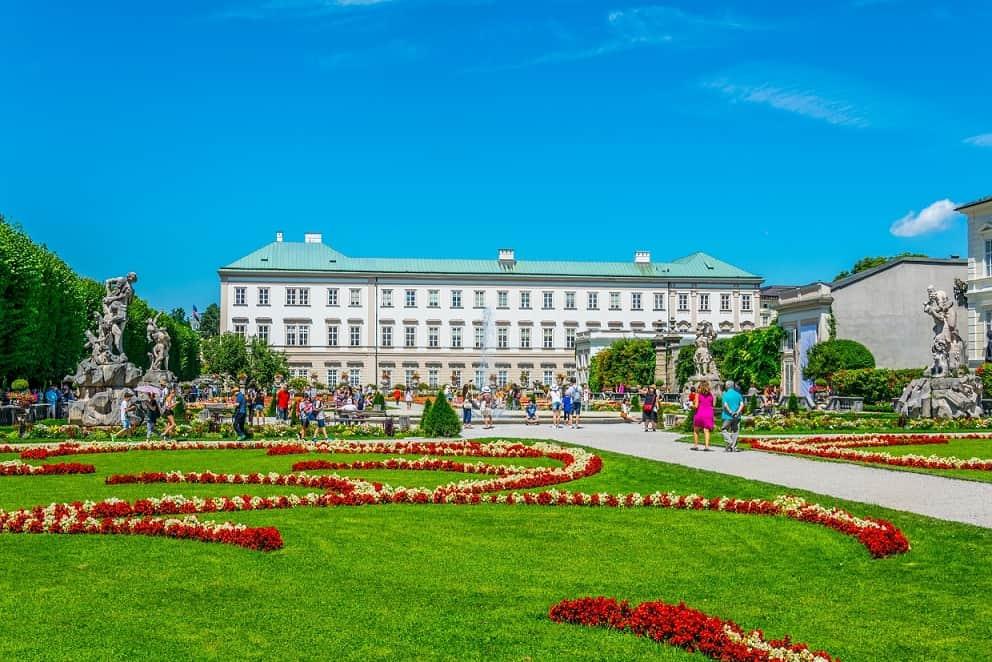 Palace Mirabell Salisburgo