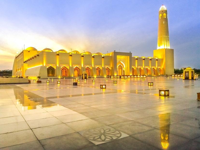 Doha moschea d'oro