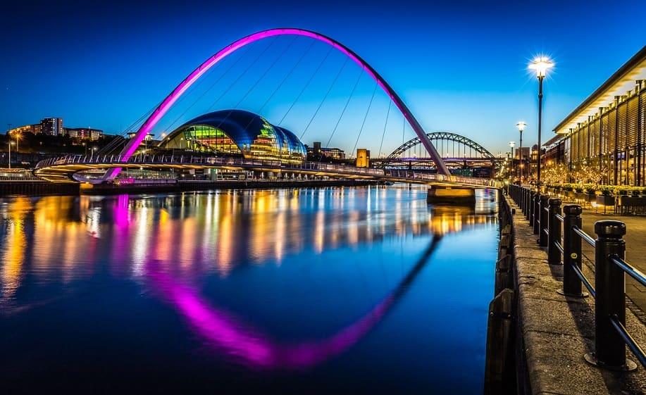 Newcastle notturna