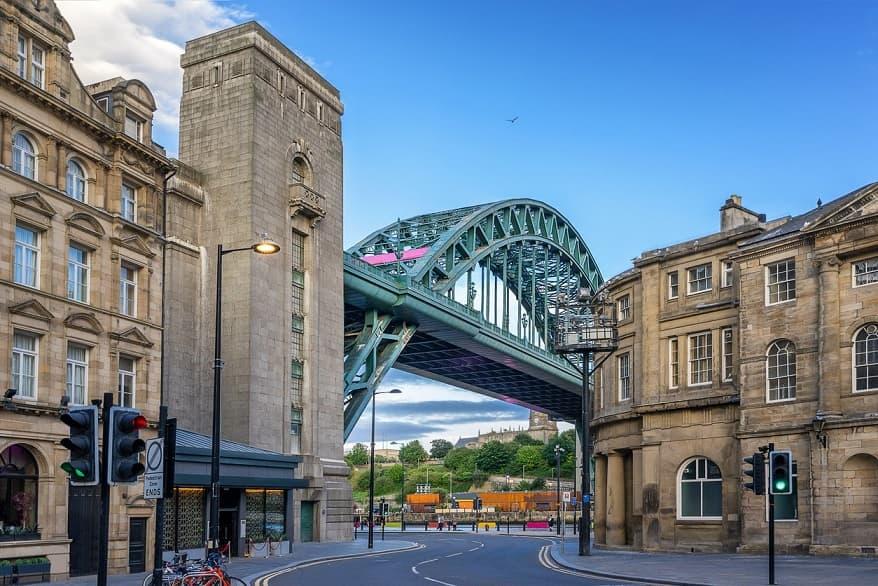 Ponte Tyne a Newcastle