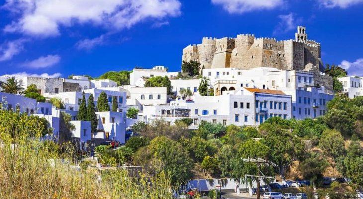 Patmos castello panorama