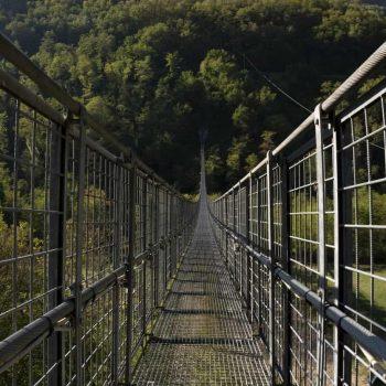 Ponte più sospeso in Italia