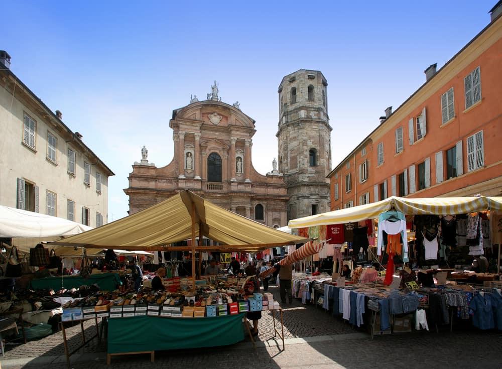 Piazza a Reggio Emilia