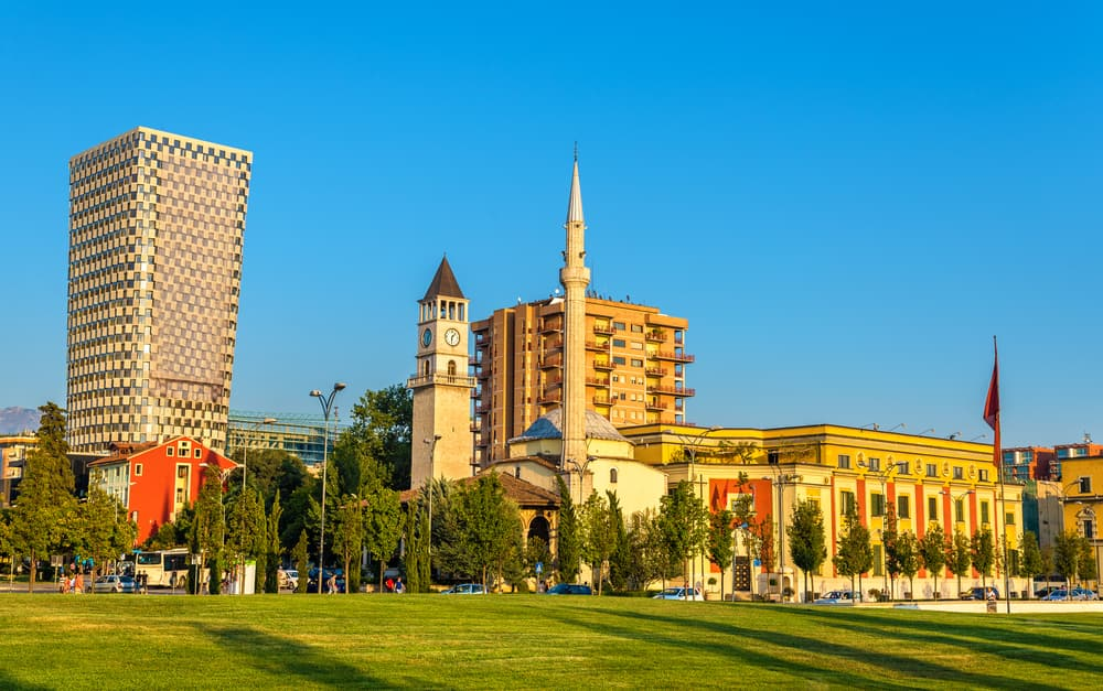 Tirana moschea