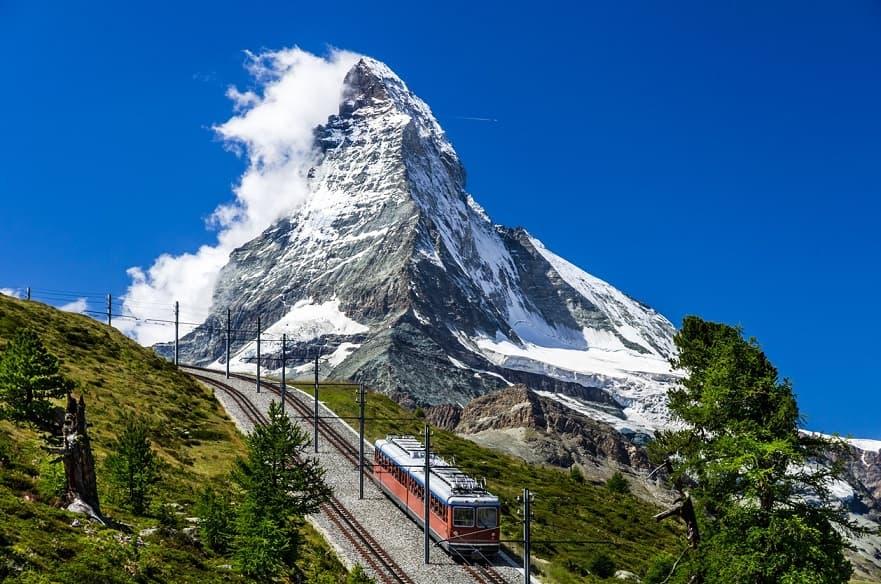 Zermatt trenino