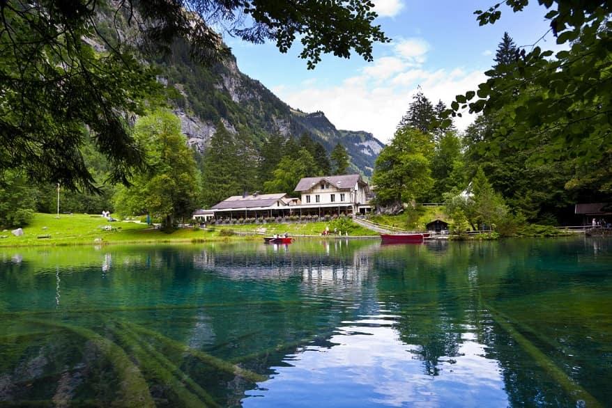 Lago Bausee panorama