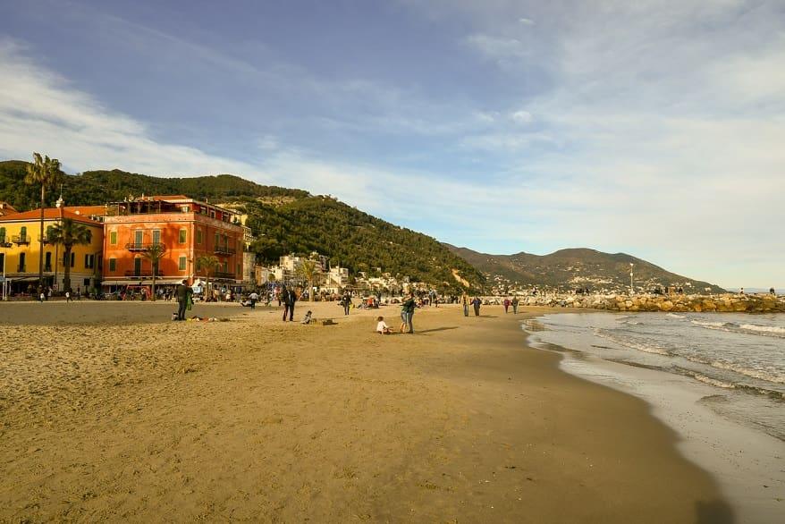 Laigueglia spiaggia