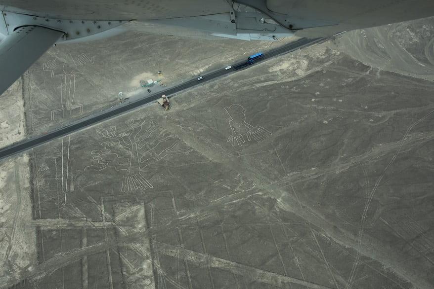 Linee Nazca vista aerea